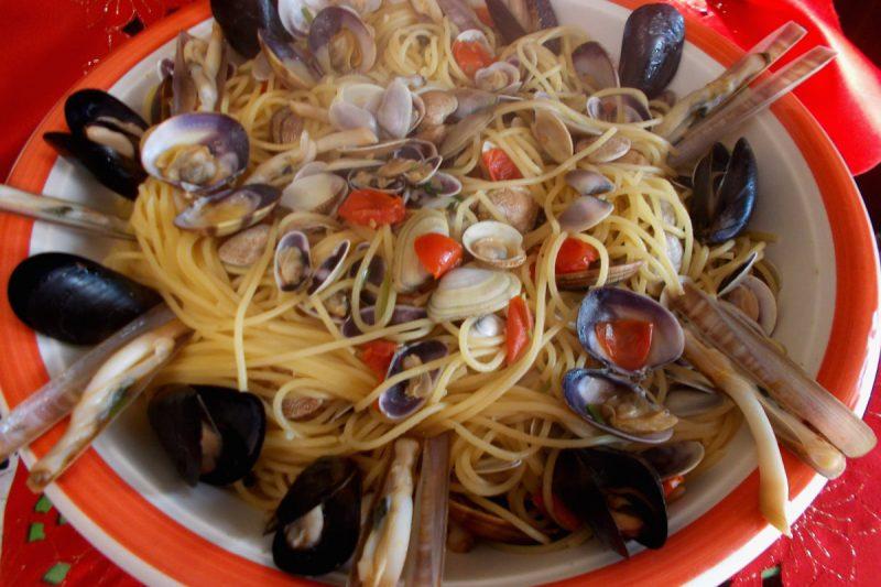 Spaghetti ai frutti di mare – cenone della vigilia