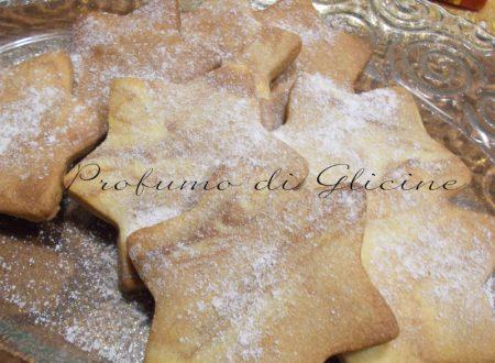 Biscotti stella di natale | Profumo di Glicine