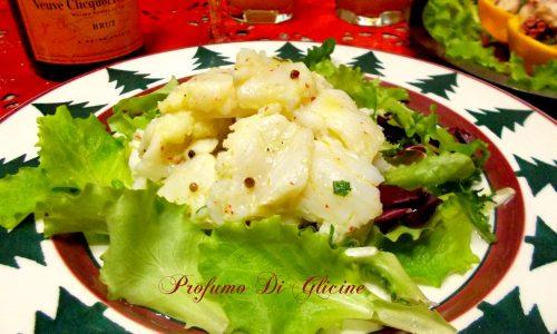 Sushi di baccalà al pepe rosa | Profumo di Glicine
