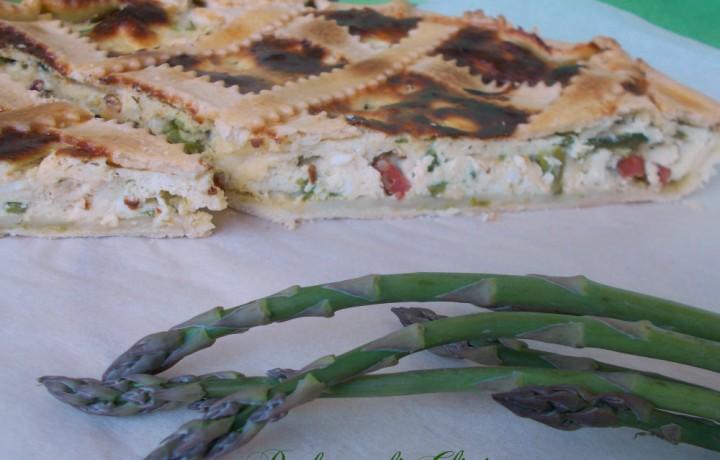 Torta salata agli asparagi ∼ Profumo di Glicine