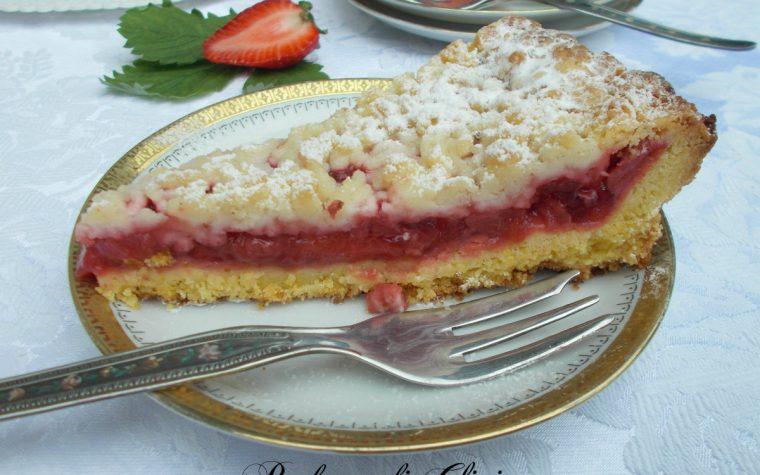 Torta sbrisolona con fragole