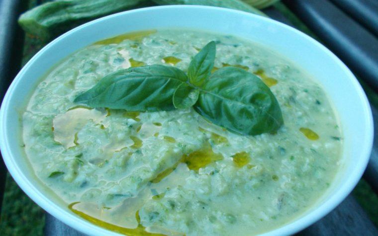 Pesto di zucchine ∼ ricetta veloce
