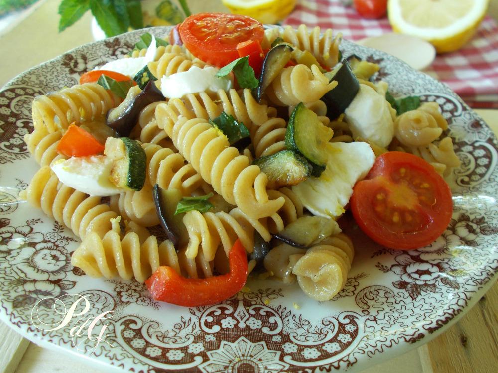Ricetta sformato di pasta fredda con verdure
