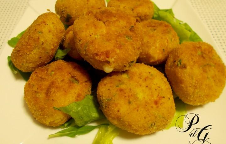 Polpette di cous cous alle zucchine