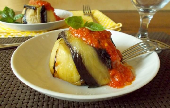 Tortini di pasta e melanzane – ricetta primo piatto