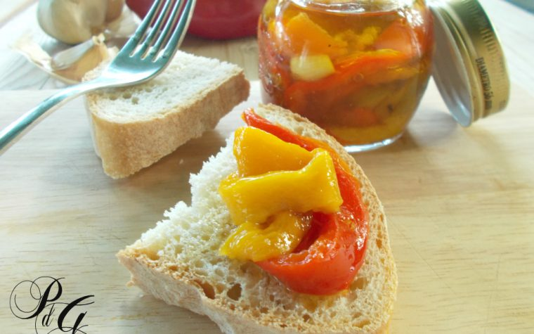 Peperoni grigliati sott'olio – ricetta
