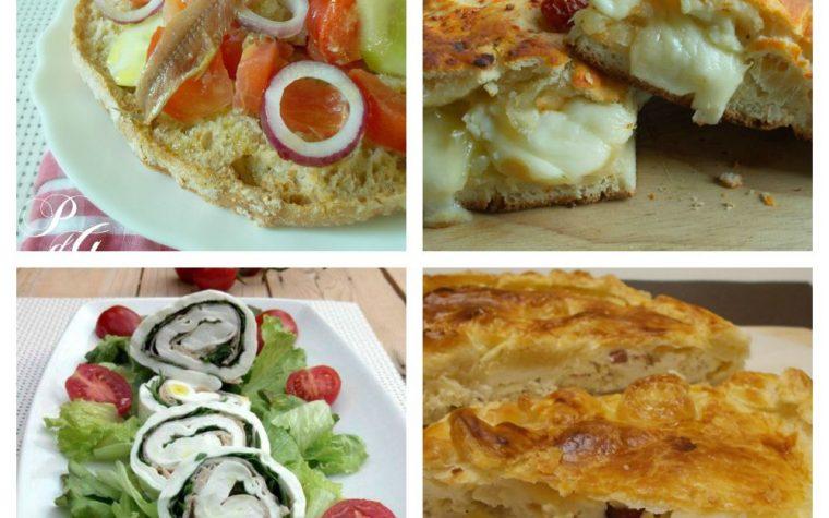 Ricette antipasti e secondi piatti menù di Ferragosto