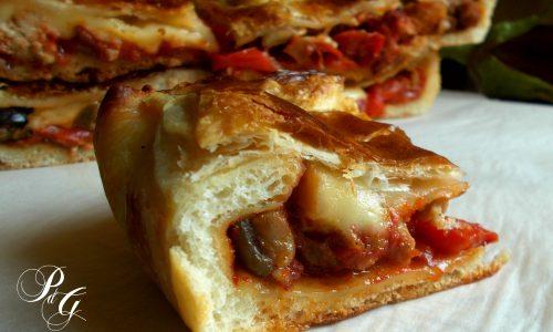 Pizza Parigina speciale - Profumo di Glicine