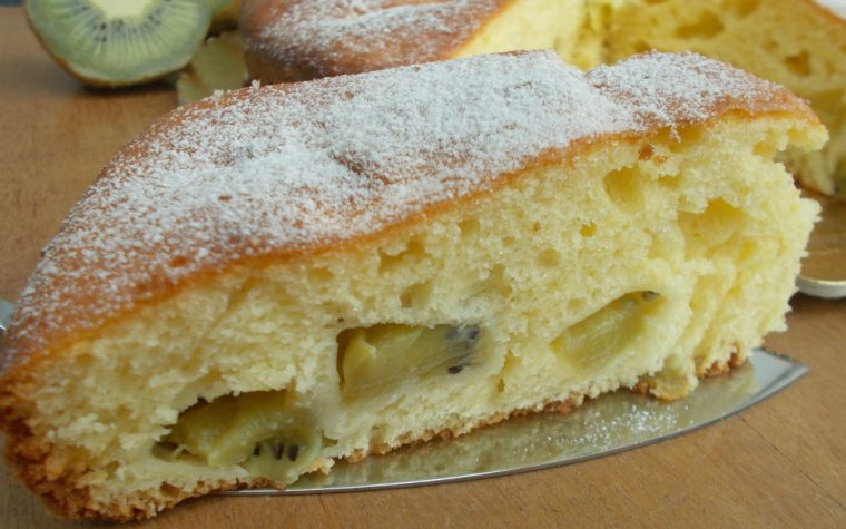 Torta 7 vasetti al kiwi ∼ Ricetta dolce facile