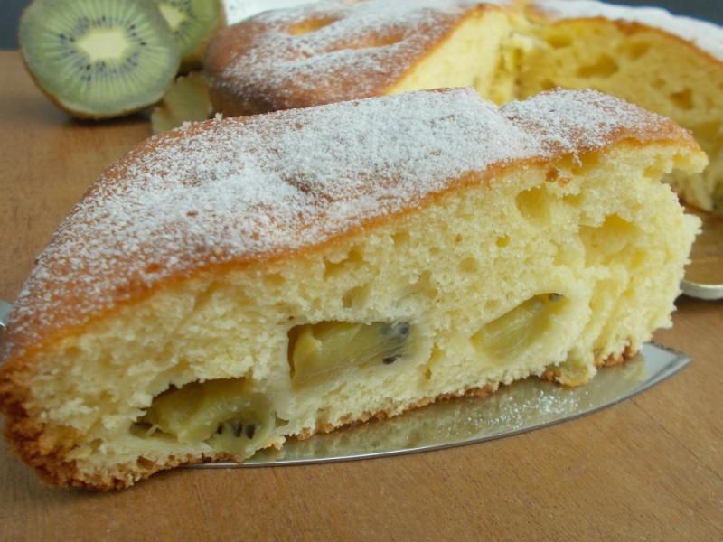 Torta 7 vasetti al kiwi
