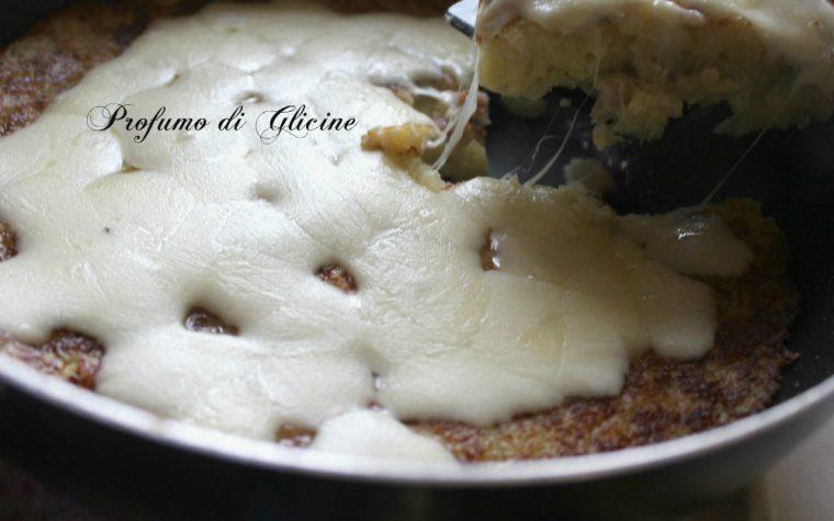 Schiacciata di patate filante