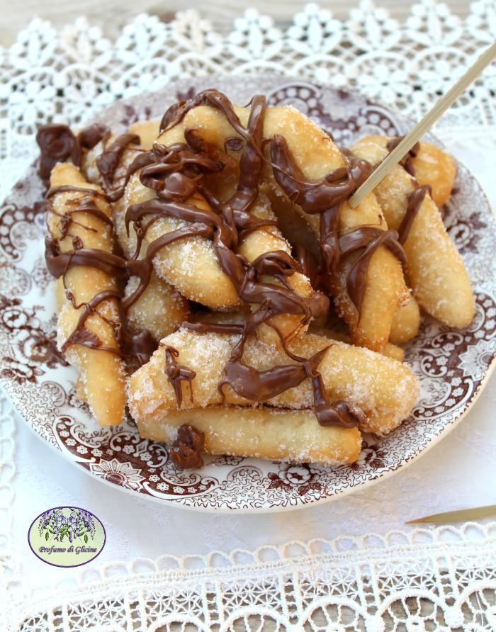 Angioletti di patate alla nutella