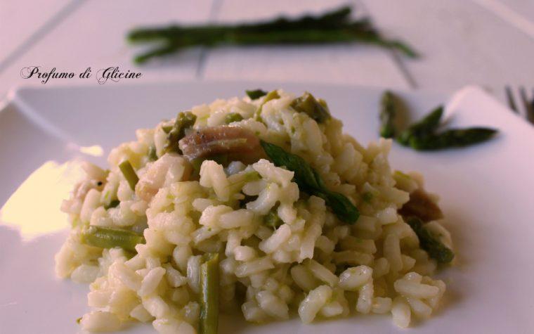 Risotto agli asparagi selvatici