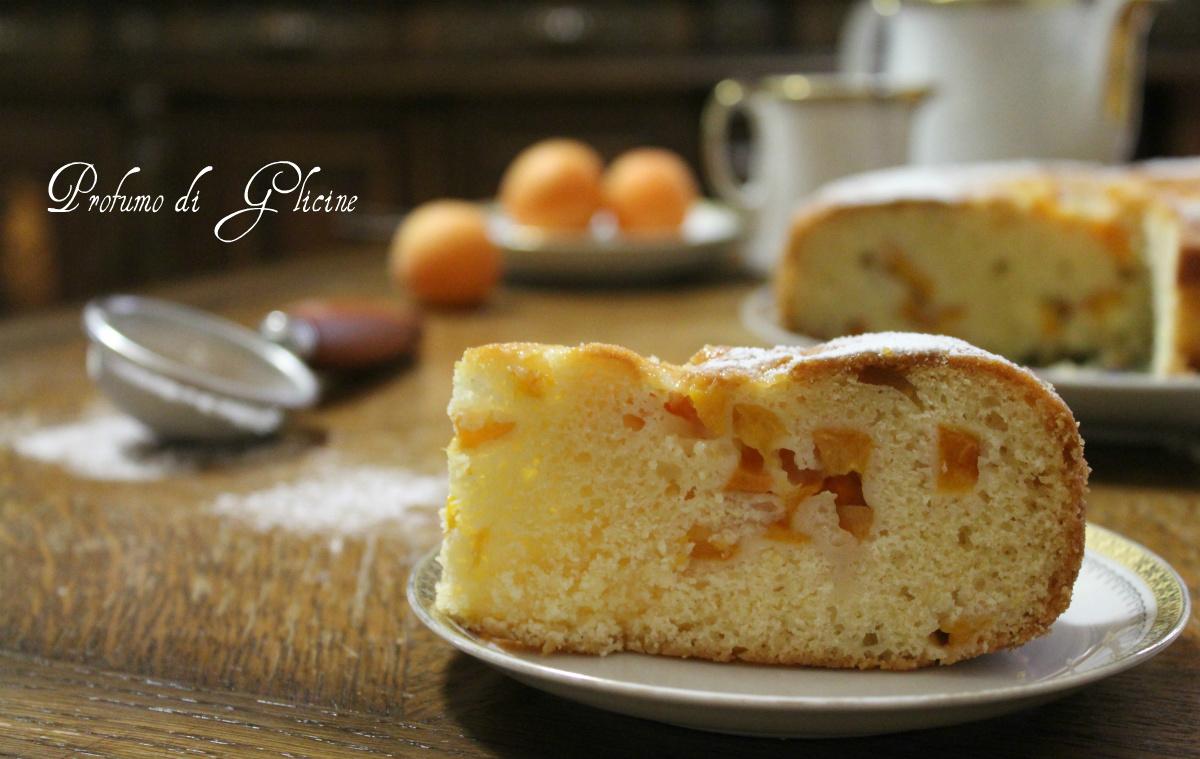 torta 7 vasetti con albicocche fresche
