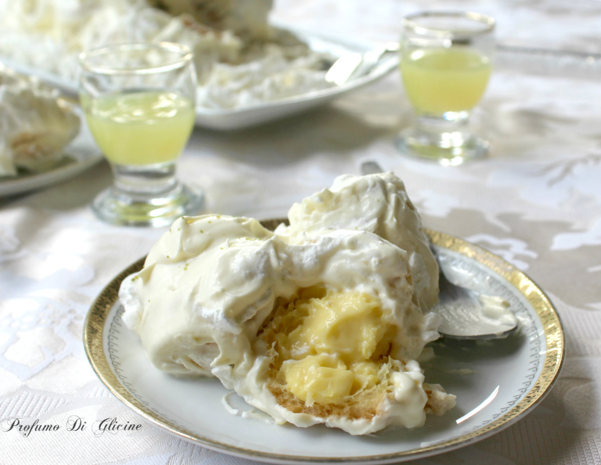 Profiteroles delizia al limone