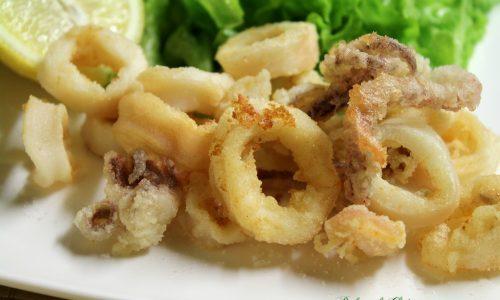 Frittura di calamari - Perfetta croccante e asciutta