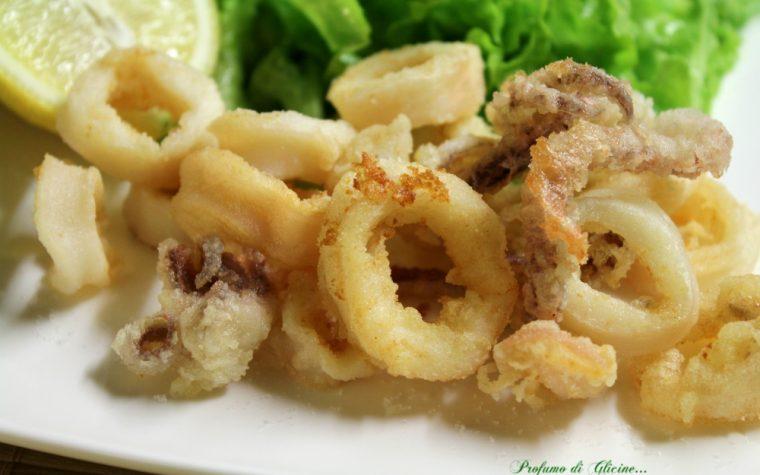 Frittura di calamari – Perfetta croccante e asciutta