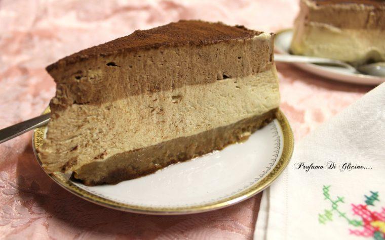 Torta gelato 2 gusti ∼ facile veloce e senza gelatiera