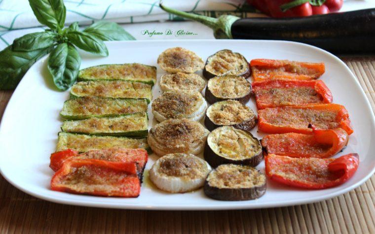 Verdure gratinate alle erbe aromatiche