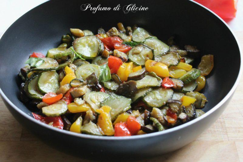 Mix di verdure in padella – Contorno saporito senza frittura