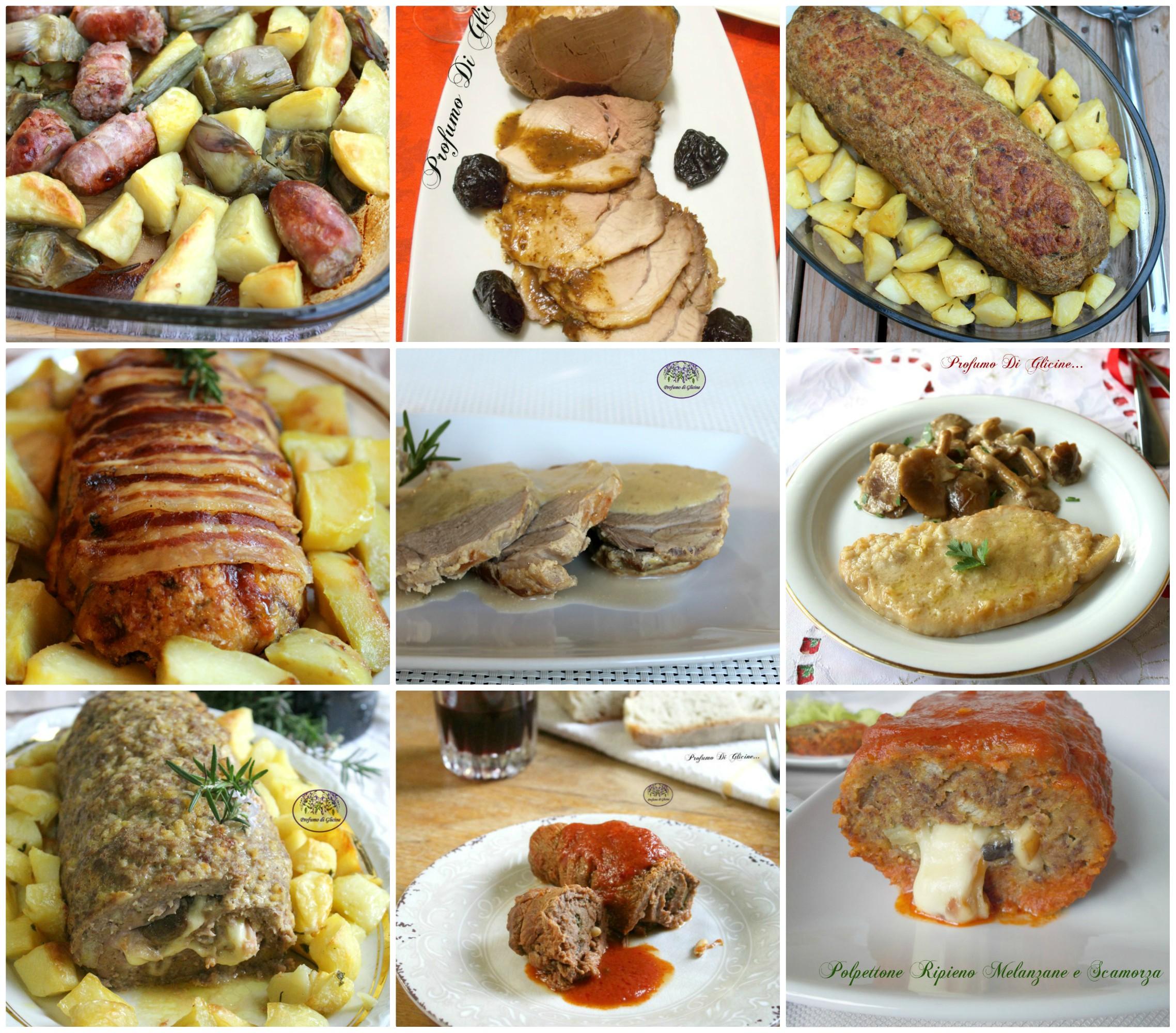 Menu Di Natale Ricette Giallo Zafferano.Menu Pranzo Di Natale E Capodanno Secondi Di Carne Economici
