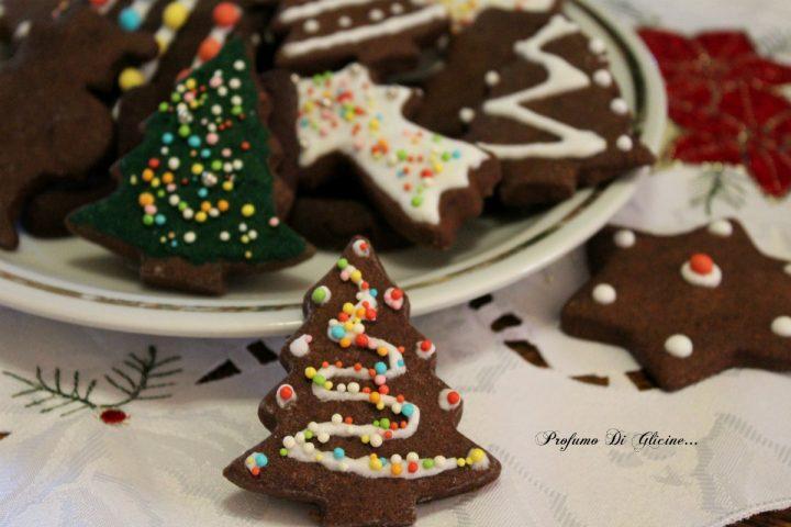 Biscotti di frolla al cacao