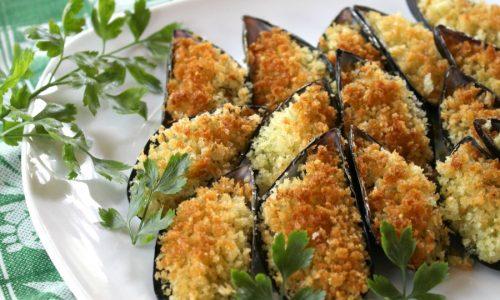 Cozze gratinate - antipasto di mare semplice e sfizioso