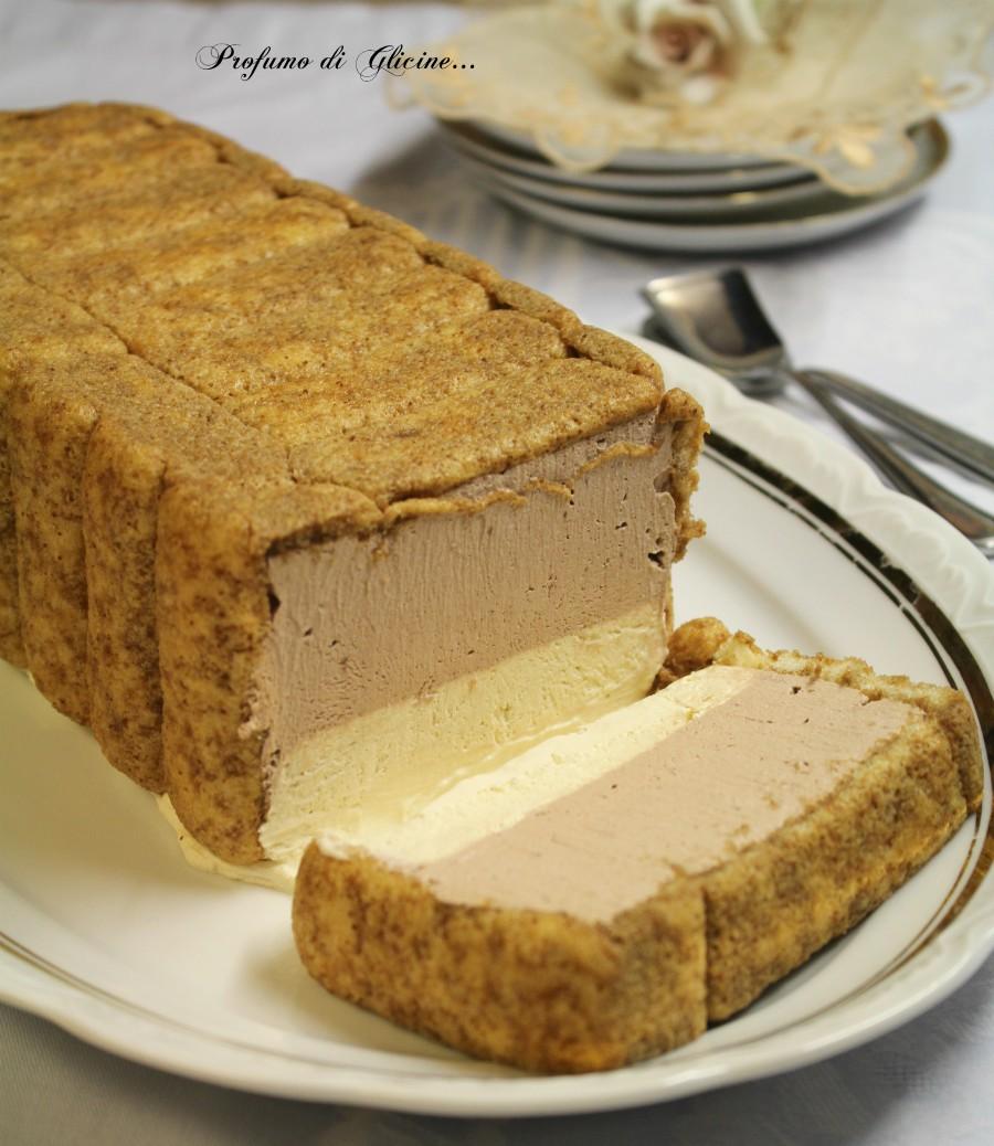 Mattonella gelato ai pavesini