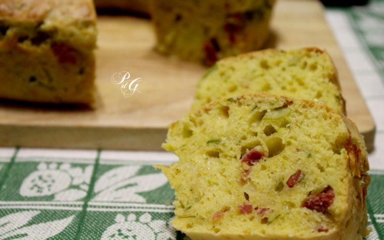 Babà rustico alle zucchine – Veloce senza lievitazione