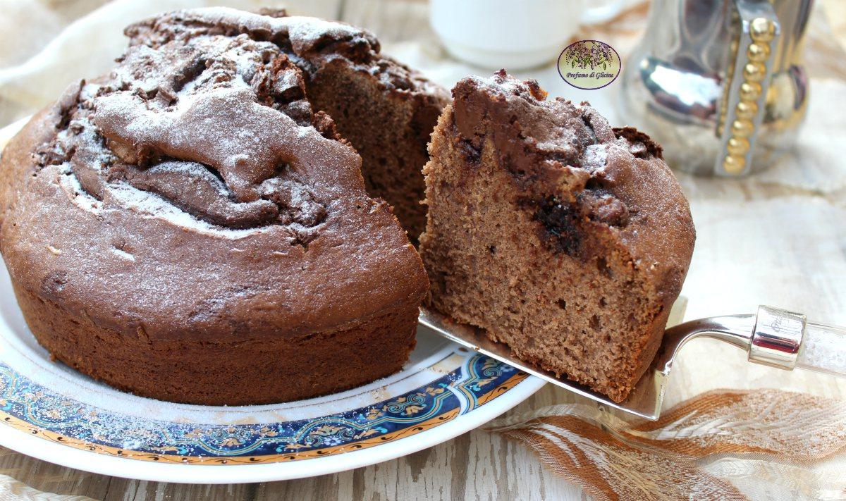 Torta cacao e Nutella