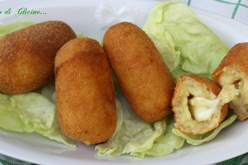 Crocché di patate – Panzerotti napoletani