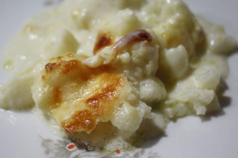 Cavolfiore gratinato al forno