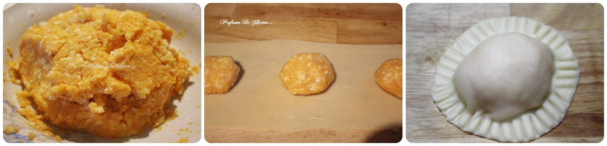 Margherite di zucca e patate