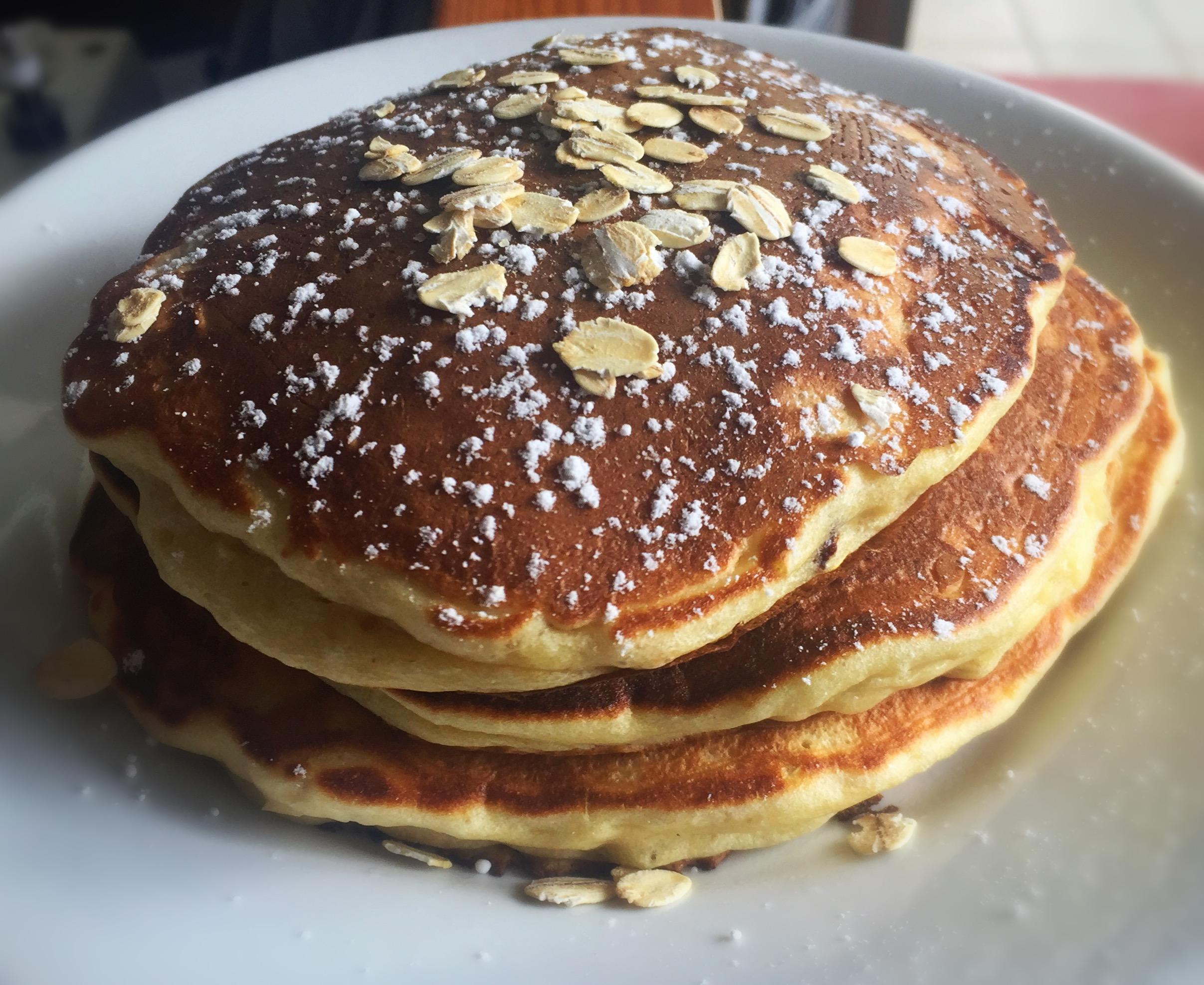 Ricetta Pancake Avena.Pancakes All Avena Ti Vedo Sciupato