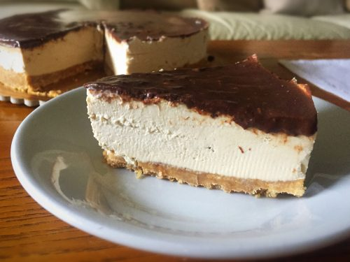 chococoffee cheesecake