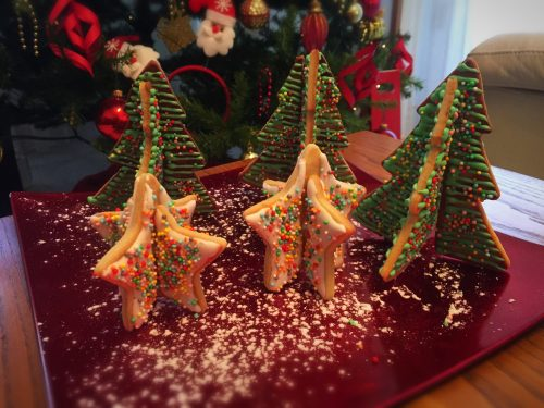 Biscotti di Natale al mandarino e cannella