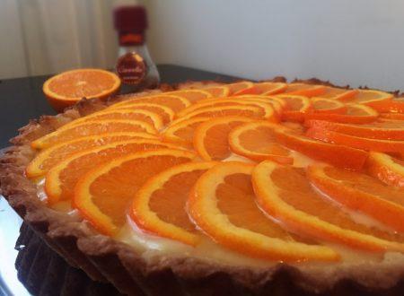 Crostata cannella e arancia senza lattosio