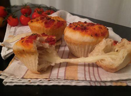 Pizza muffins allo zenzero