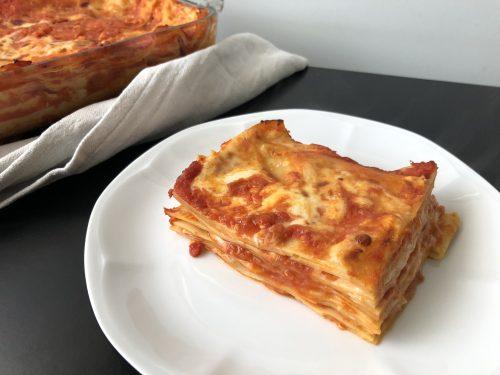 Lasagne rosse al salmone
