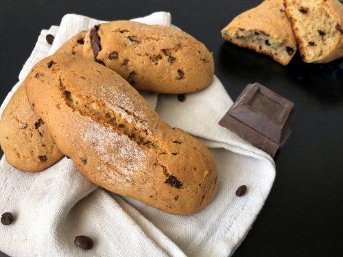 Biscottoni da colazione al caffè e ciocclato