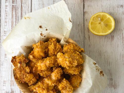 Nuggets di pollo croccanti