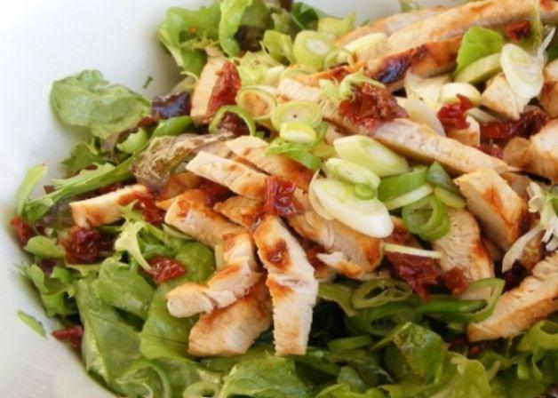 Insalata di pollo dolce salato for Insalate ricette