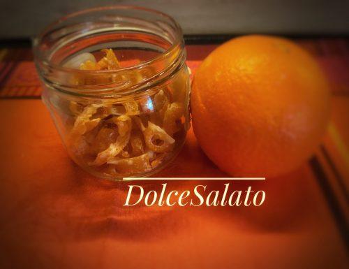 Arancia candita ( scorzette)