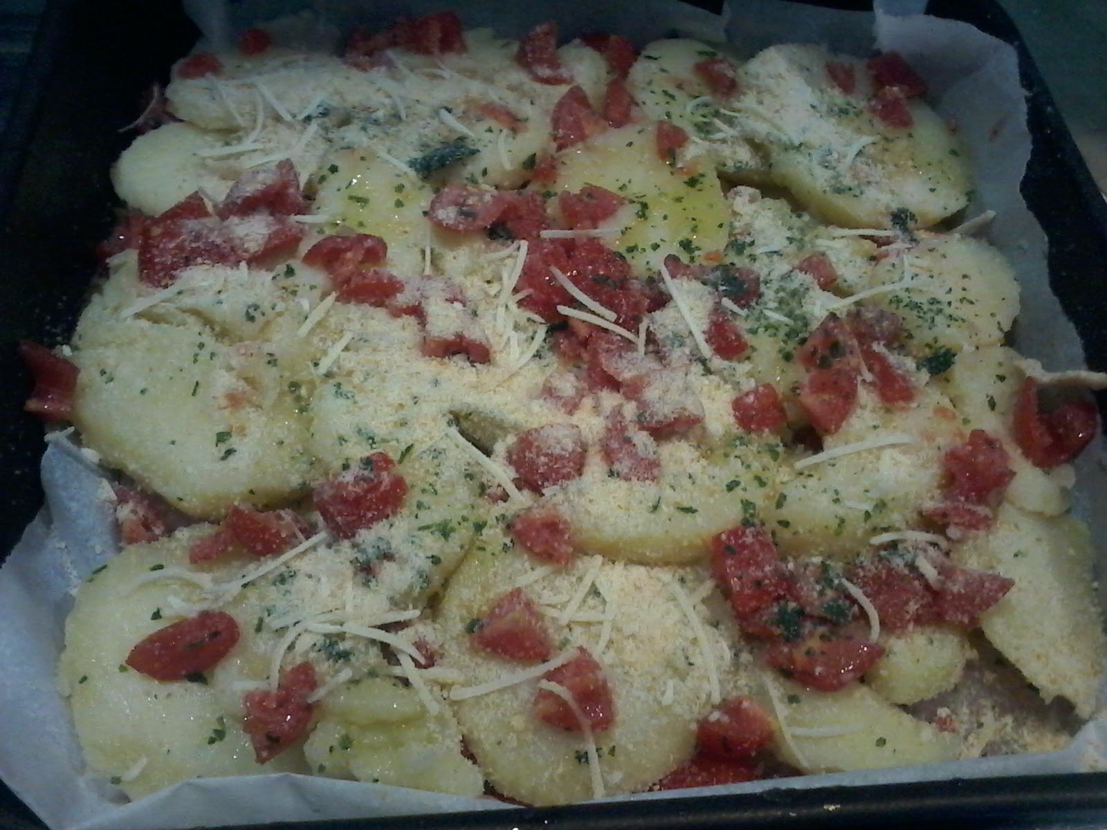 merluzzo a forno con patate