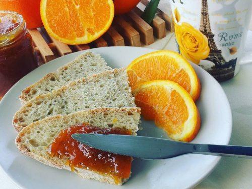 Marmellata di arance con le scorzette