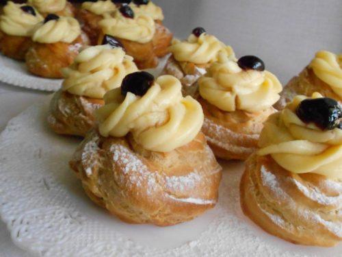 Zeppole di San Giuseppe perfette, sia fritte che al forno, ricetta con tutorial fotografico