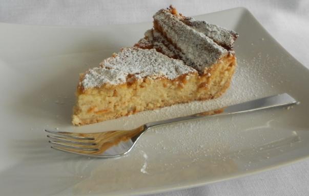 La pastiera napoletana con crema pasticcera