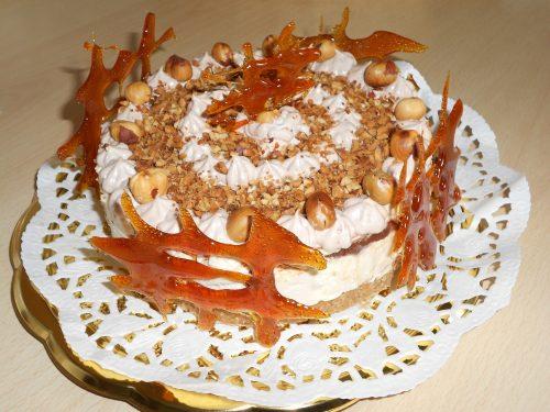 Cheesecake alla nocciola e nutella