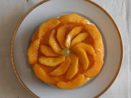 Cheesecake con ricotta al forno e con gelèe di frutta