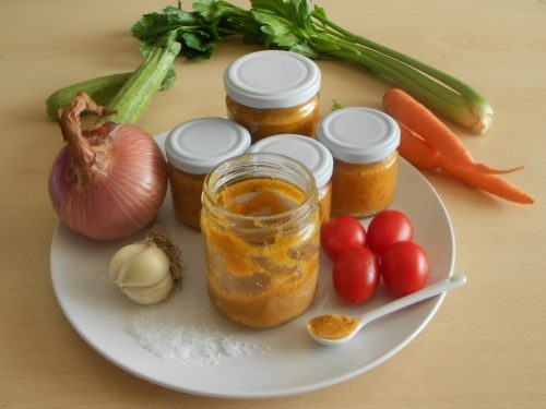 Dado vegetale fatto in casa, ricetta con foto